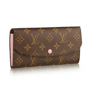 💯AUTHENTIC Louis Vuitton Emilie Wallet