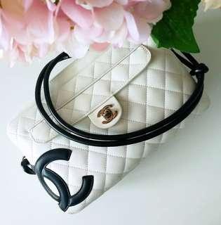 Authentic Chanel Cambon Shoulder Bag