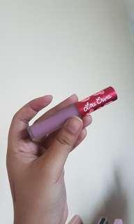 Lime Crime liquid lipstick, Wysteria