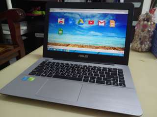 Asus Thin i5/win8/8Gb Ram/1000Gb Hdd/14.5inch/Gaming