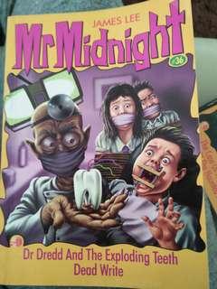 Mr Midnight #36 #37 #39 #40 #44
