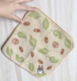 🚚 [全新]龍貓圖案小方巾