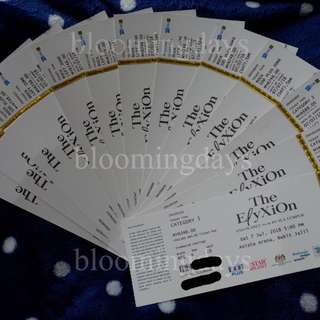 ELYXION in Malaysia TICKETS Testimony by bloomingdays (not for sale)