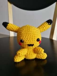 Pikachu handmade crochet toy