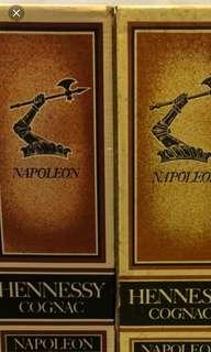 Hennessy Napoleon cognac 700ml box, 每個