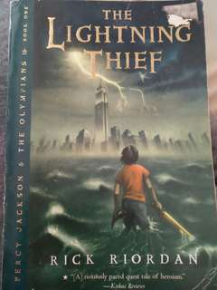 Percy Jackson:The Lightning Thief (book 1)