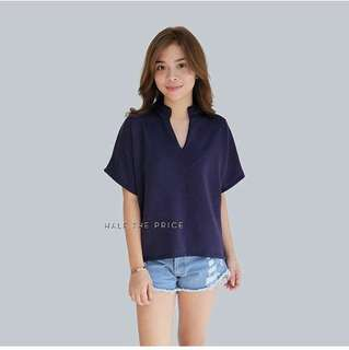 Chinese Collar Top