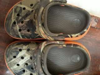 Crocs limited edition camouflage