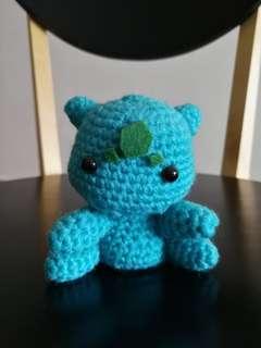 Bulbasaur Handmade Crochet Toy