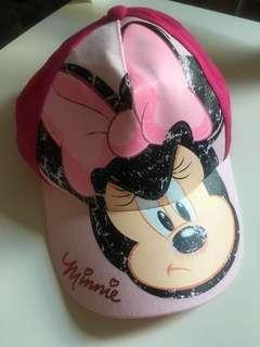 香港迪士尼Minnie Mouse cap帽