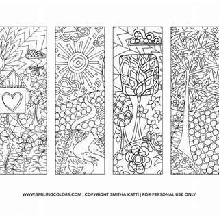 DIY FREE PRINTABLE BOOKMARKS (COLOR IT)