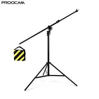 Proocam BS-280 2 in 1 Combo Boom Stand for Studio photo setup