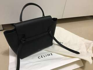 Celine micro belt black