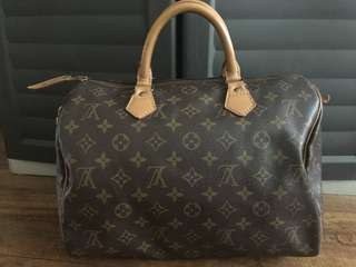 Authentic LV Speedy Monogram 30