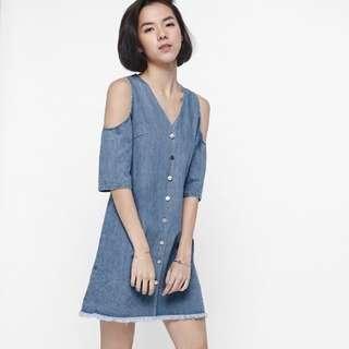 LOVE BONITO Denim Dress