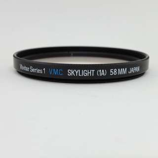 Vivitar Series 1 VMC Skylight UV Filter (58mm)