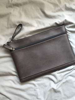 Leather Clutch Kulit