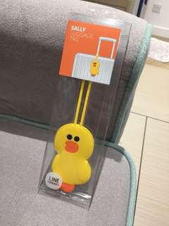 Line Friends Sally 行李牌 Luggage Tag