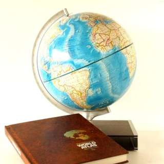 World Globe and Altas