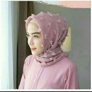 Hijab Premium Rubiah Linen Square