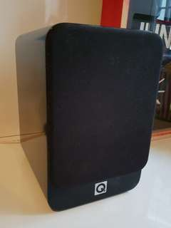 Q Acoustics bookshelf speakers x 2