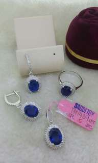 Earrings Saudi 18k