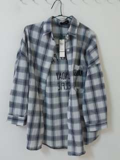 🚚 韓寬鬆襯衫