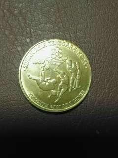 Syiling Lama $5 Sea Games KL 1989