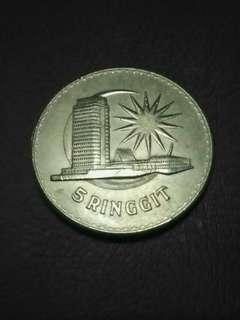 Syiling Lama $5 TAR 1971
