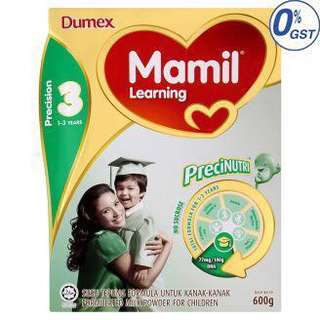 Dumex mamil learning step 3 600gm (exp 03/2019)