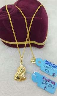 Necklace Saudi 18K