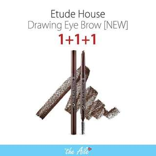 🌟GSS PROMO🌟[1+1+1] Etude house drawing eyebrow