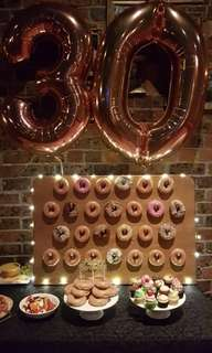 FOR HIRE: DONUT WALL PARTY PACKAGE