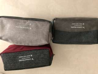 Cathay Pacific business class amenity bag