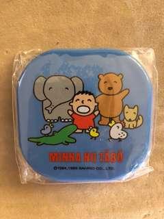 1995 日本製 大口仔 Minna No Tabo 梳鏡盒