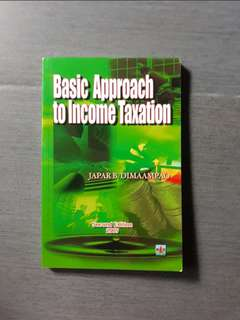 Basic Approach to Income Taxation