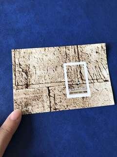 只限兩張(無齒)原膠 1979 以色列郵票 世界遺產 哭牆小型張