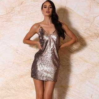 Meshki sequin dress