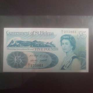 St. Helena Bank Note