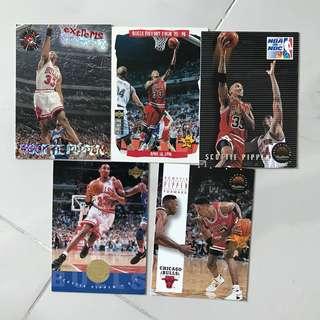 NBA Scottie pippen 籃球咭
