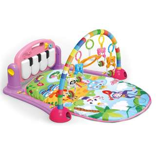 Baby Piano Active Play Pad Pink
