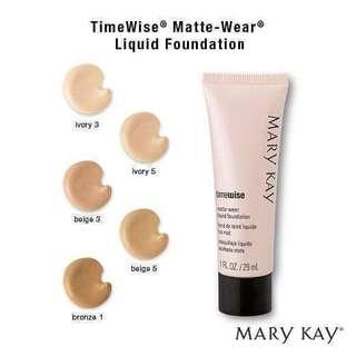 MARY Kay Timewise Liquid Foundation