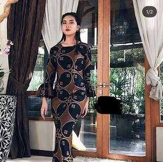 Batik Mermaid Dress