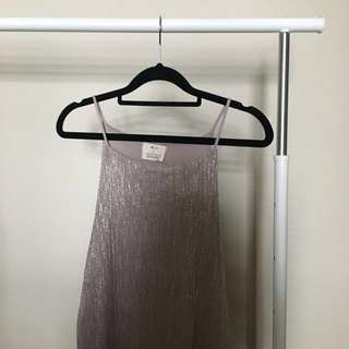 Urban Outfitters Shimmery Dress