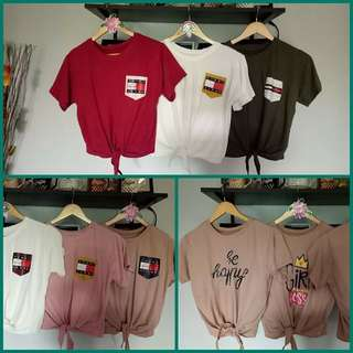 Tommy h.tieknot graphic tees