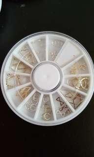 Nail Arts Studs In Wheel