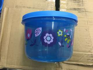 Muffin Round Container Blue