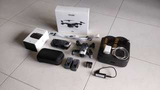 Dji spark set, rc, 2 batteries
