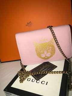 GG Garden sling bag (pink)