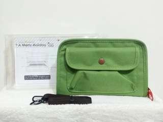 韓國製旅行証件袋